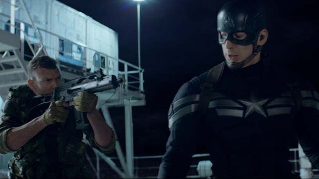 'Captain America: The Winter Soldier' Extended Clip