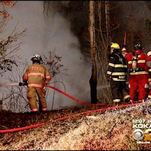 Firefighters Battle Ice And Flames In Wilmerding