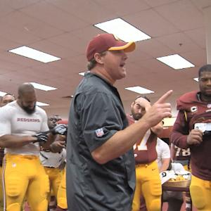 Inside the Washington Redskins locker room
