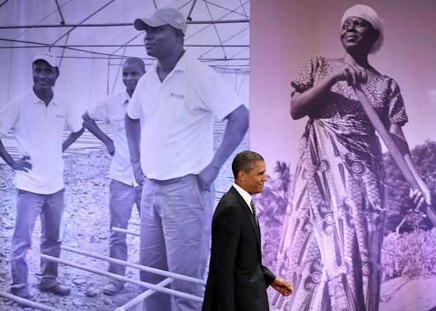 Obama Delivers Address To Symposium On Global Agriculture And Food Security
