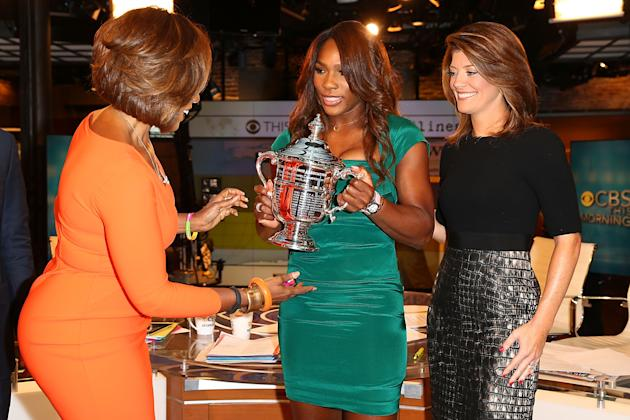 2013 US Open Champion Serena Williams - New York City Trophy Tour