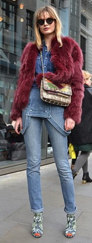 Top 13 Denim Trends For Fall 2012 Dungarees