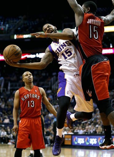 DeRozan, Johnson lift Raptors past Suns, 98-71