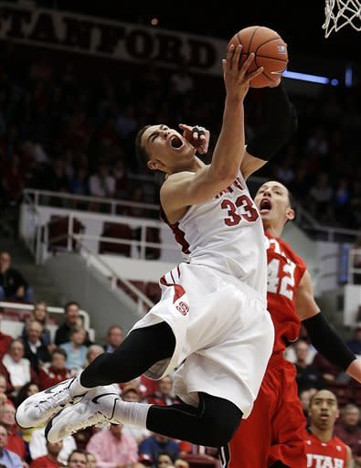Randle's 22 lead Stanford past Utah 84-66