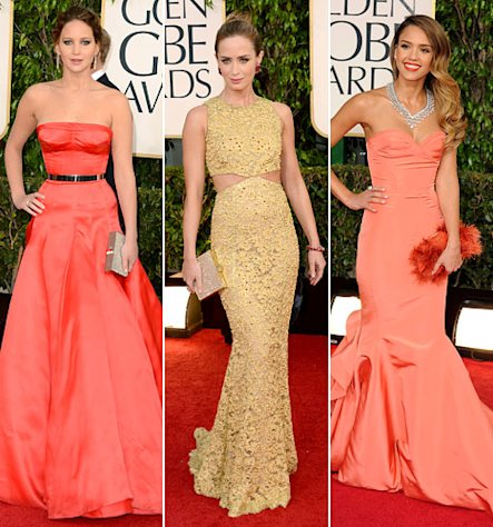 Golden Globes 2013: What the Stars Wore!