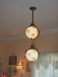 Antique Globe Chandelier