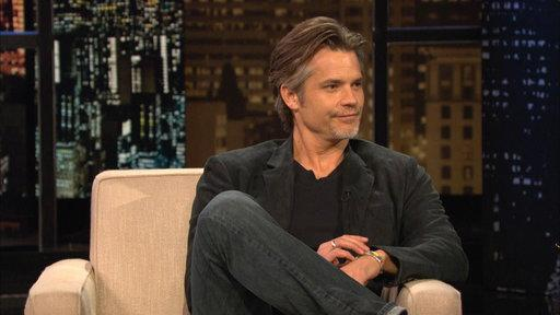 Chelsea and Timothy Olyphant Duke It Out
