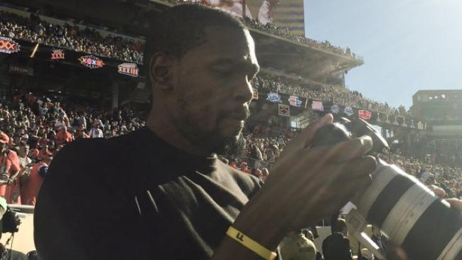 Kevin Durant Used His Height To Give Himself A Unique Advantage At Super Bowl 50