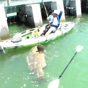 Man Catches Record Breaking 500 Pound Grouper from a Kayak!