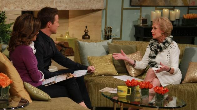 Iconic actress Tippi Hedren on the set of Access Hollywood Live on October 19, 2012. -- NBC