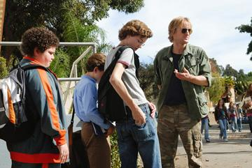 Troy Gentile , David Dorfman , Nate Hartley and Owen Wilson in Paramount Pictures' Drillbit Taylor