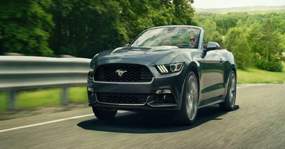 2015 Mustang Convertible Helps Relationships?