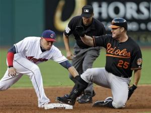Thome hits homer No. 610, Orioles top Indians 10-2