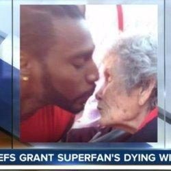 Kansas City Chiefs Grant Superfan Her Dying Wish