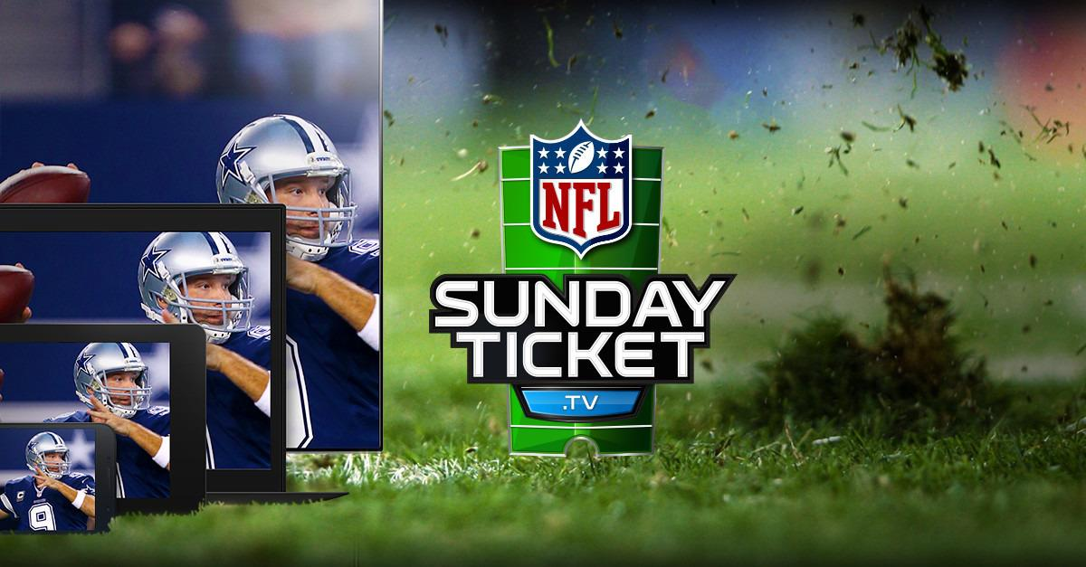 Live stream NFL SUNDAY TICKET this season.