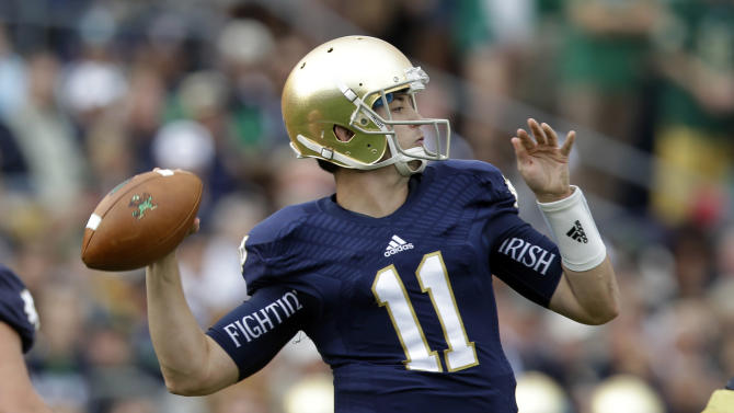 No. 22 Irish have owned series with No. 14 Sooners