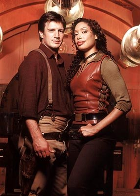 "Nathan Fillion and Gina Torres Fox's ""Firefly"" Firefly"