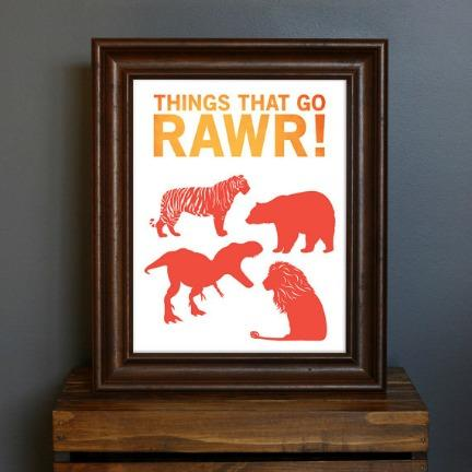 Things that go RAWR!
