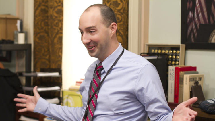 "Tony Hale stars as Gary Walsh in ""Veep."""