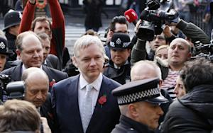 Julian Assange Loses His Appeal on Extradition to Sweden