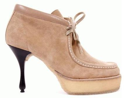Marc Jacobs high heel wallabees