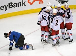 Jackets derail Avs' playoff hopes with 5-2 win