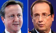 Cameron And Hollande Meet In London