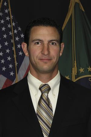 U.S. Border Patrol agent Nicholas Ivie, 30, is shown in this U.S. Customs and Border Protection photograph released to Reuters on October 2, 2012.