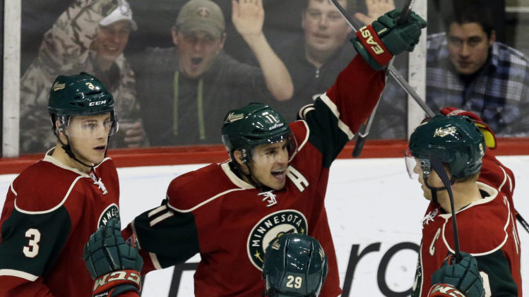 Coyle's goal lifts Wild to 3-2 win over Panthers