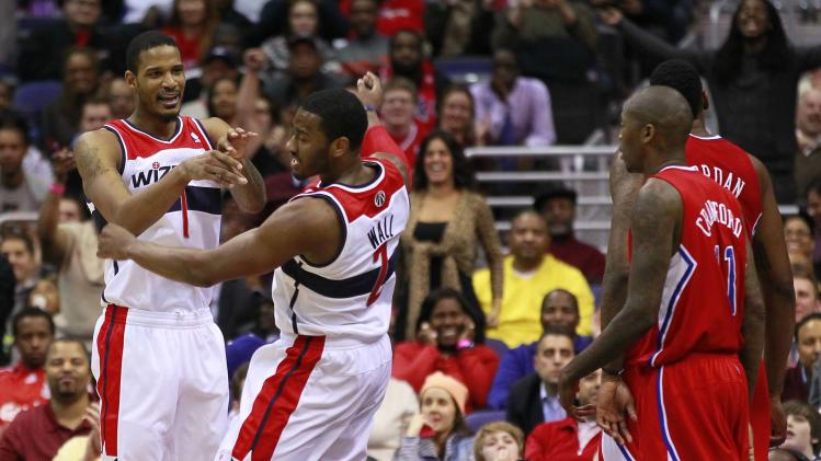 NBA: Los Angeles Clippers at Washington Wizards