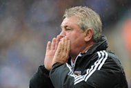 Hull boss Steve Bruce admits he was wrong to lose his temper at the officials on Sunday