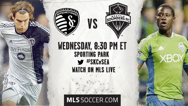 Sporting Kansas City vs. Seattle Sounders | MLS Match Preview