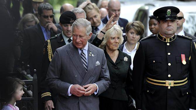 The Queen's Diamond Jubilee - Canada Visit - Day 2 - Toronto, ON