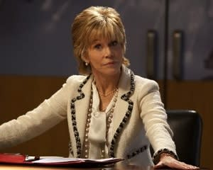Newsroom Season 2 Scoop: Jane Fonda Curses Out Jeff Daniels, Calls Him a 2nd-Rate [Spoiler]