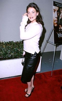 Meredith Salenger at the Beverly Hills premiere of Miramax's The Yards