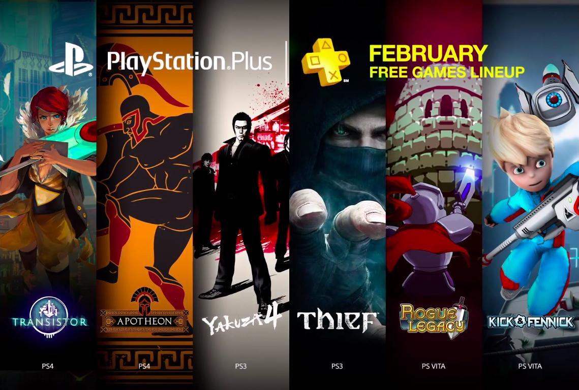 Here are all the PS4, PS3 and Vita games you'll get for free in February