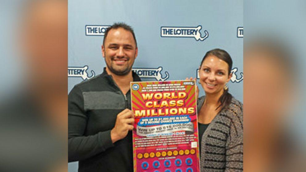$15 Million Jackpot for Engaged Massachusetts Couple