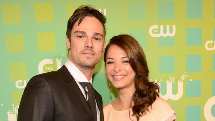 The CW 's 2012 Upfront - Jay Ryan and Kristin Kreuk
