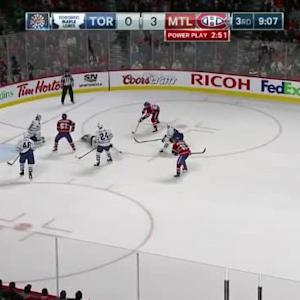 Jonathan Bernier Save on Max Pacioretty (10:56/3rd)