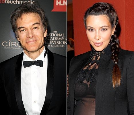 "Kim Kardashian, Kanye West Should ""Really Focus"" on Their Premature Baby, Says Dr. Oz"