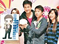 Kenneth Ma's girlfriend is secondary