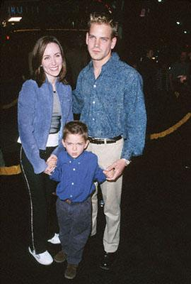 Premiere: Scott Bairstow and his family at the Mann Village Theatre premiere of Dreamworks' The Road To El Dorado in Westwood, CA - 3/29/2000