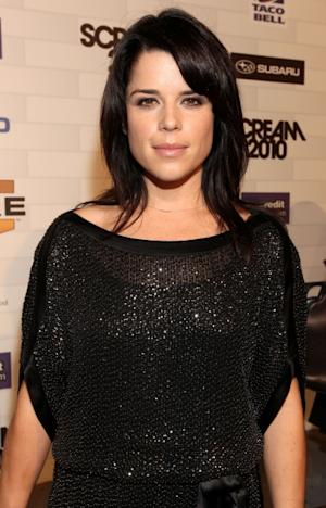 """Neve Campbell arrives at Spike TV's """"Scream 2010"""" at The Greek Theatre, Los Angeles, October 16, 2010  -- Getty Images"""