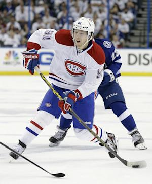 Canadiens agree to 4-year deal with Lars Eller