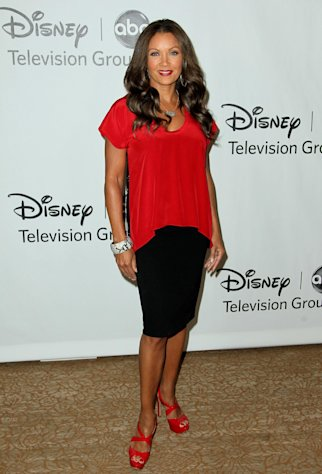 FILE - In this July 27, 2012 file photo, actress Vanessa Williams arrives at the Disney ABC Television Group 2012 Summer Press Tour All-Star Cocktail Reception, in Beverly Hills, Calif. Williams, Cuba Gooding Jr. and Condola Rashad will be joining Cicely Tyson in the play, The Trip to Bountiful. Opening night is set for April 23, 2013. (Photo by Matt Sayles/Invision/AP, File)
