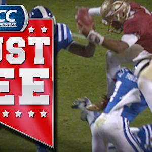 FSU Jameis Winston Makes Leaping TD | ACC Must See Moment