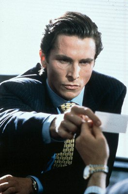 Christian Bale as Patrick Bateman in Lions Gate's American Psycho