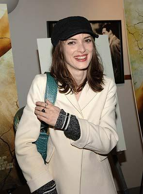 Winona Ryder at the New York premiere of THINKFilm's The Ten