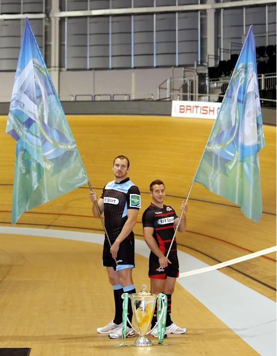 Rugby Union - 2013-2014 Scottish Heineken Cup Launch - Sir Chris Hoy Velodrome