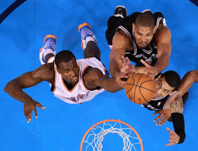 San Antonio Spurs v Oklahoma City Thunder - Game Four